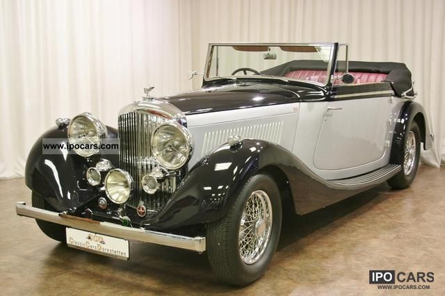 Bentley  4 1/4 Litre Cabriolet fully restored immaculate 1937 Vintage, Classic and Old Cars photo