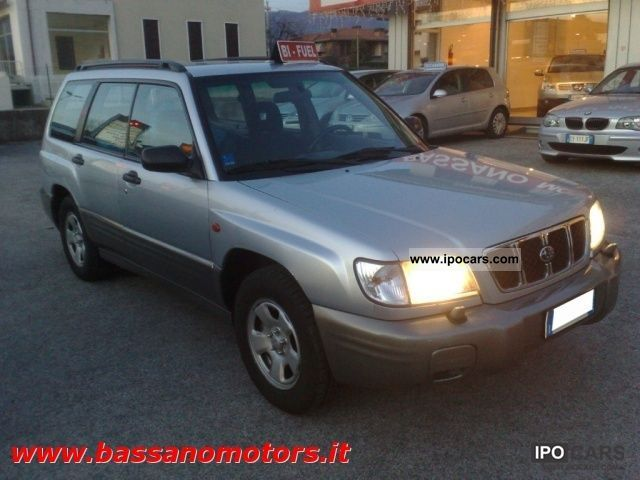 Subaru  Forester 2.0 16V cat CY GPL 2000 Liquefied Petroleum Gas Cars (LPG, GPL, propane) photo