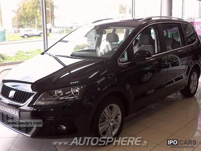 2012 Seat  Alhambra 2.0 TDi140FAP Techside + PA E-Eco Van / Minibus Used vehicle photo
