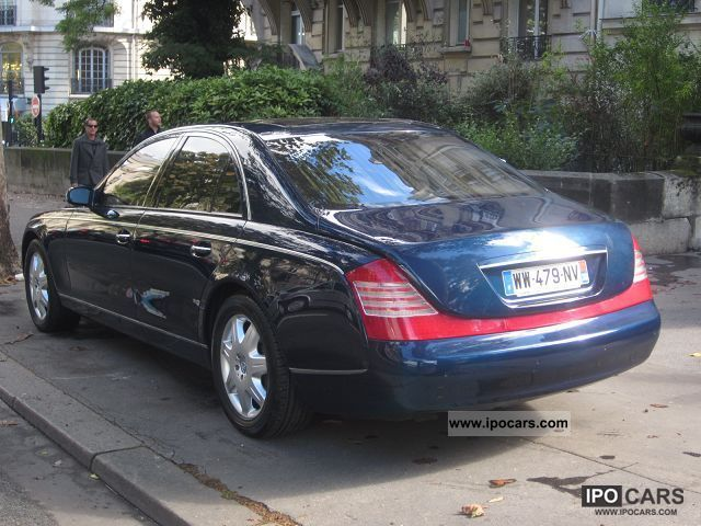 Maybach Sedans Bva Car Photo And Specs