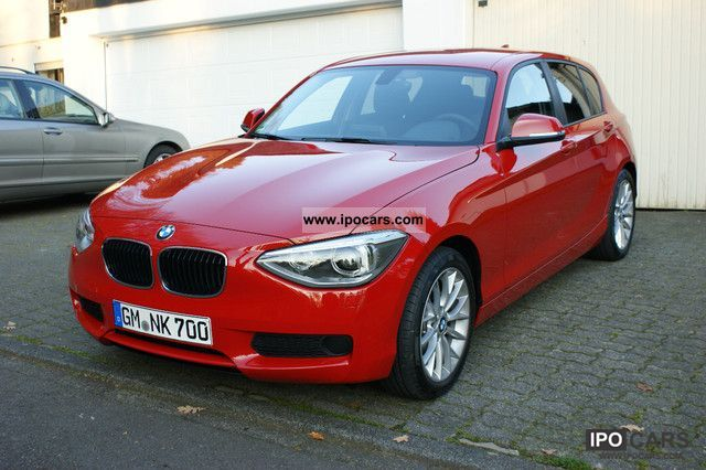 2012 BMW  116d Urban Line Xenon PDC Camera New Model Limousine Used vehicle photo