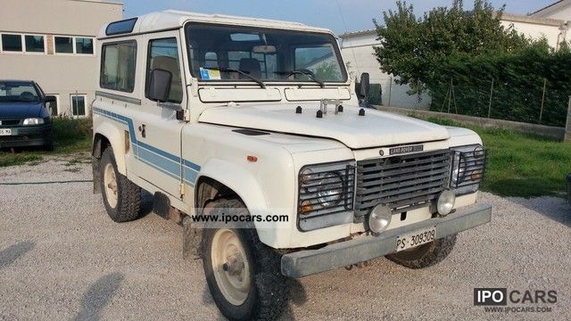 1986 Land Rover  Defender90 Off-road Vehicle/Pickup Truck Used vehicle photo
