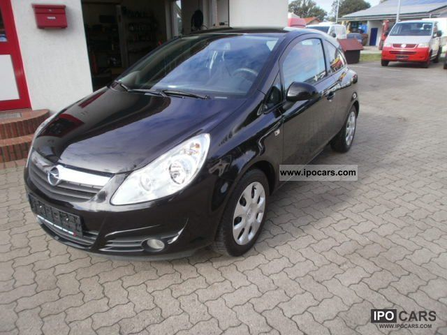 2008 opel corsa d 1 2 edition air car photo and specs. Black Bedroom Furniture Sets. Home Design Ideas