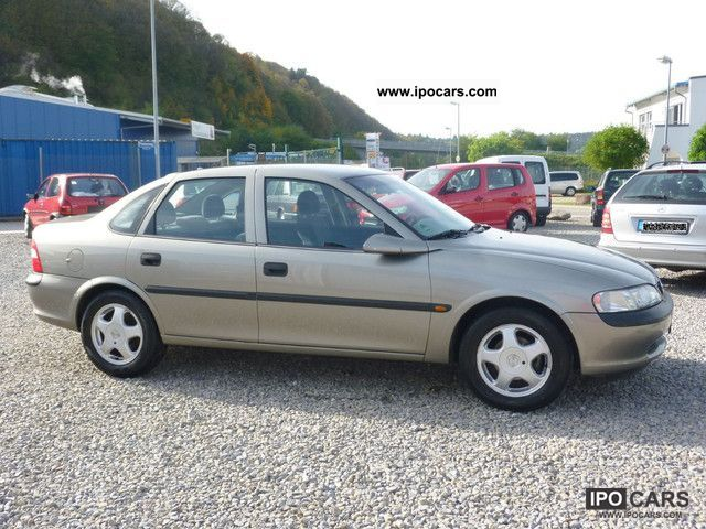 1998 opel vectra 1 6 orig 78tkm from 2 hand car photo and specs. Black Bedroom Furniture Sets. Home Design Ideas