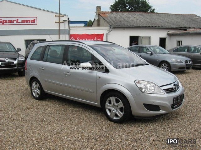 2009 opel zafira 1 7 cdti navi pdc klimaaut 7 seats car photo and specs. Black Bedroom Furniture Sets. Home Design Ideas