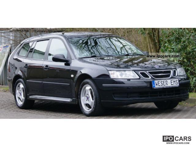 2006 Saab  9-3 1.8 i Sport Wagon Leather Linear Air eFH aluminum Estate Car Used vehicle photo