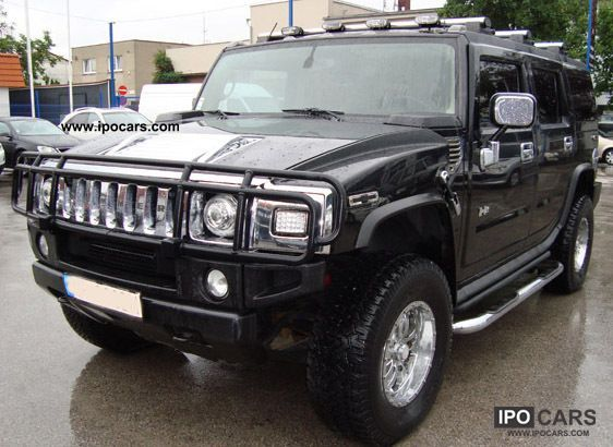 Hummer  H2, TV, Bose sunroof, camera, chip tuning! 2005 Tuning Cars photo