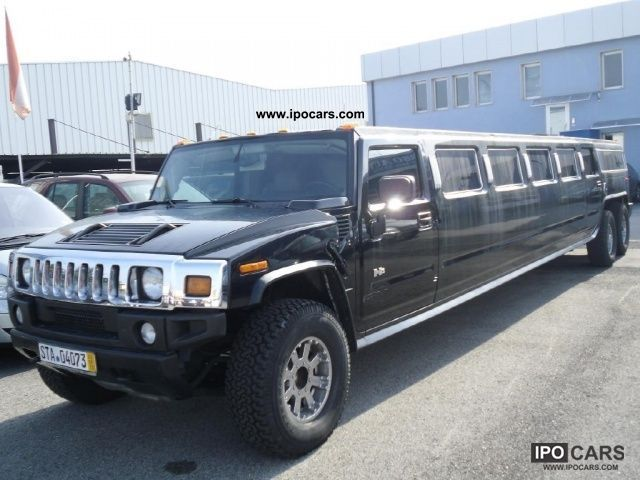 2003 Hummer  H2 limo Limousine Used vehicle photo