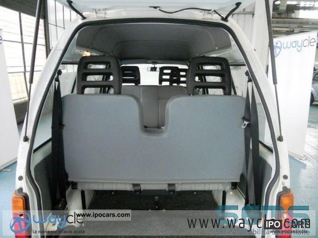 2007 Piaggio Porter Fontana Glass Elettrico 6 Posti Car