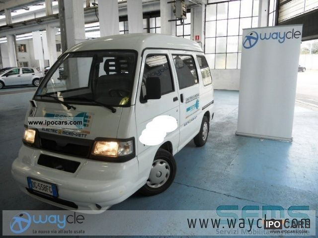 Piaggio  Porter Fontana Glass elettrico 6 posti 2007 Electric Cars photo