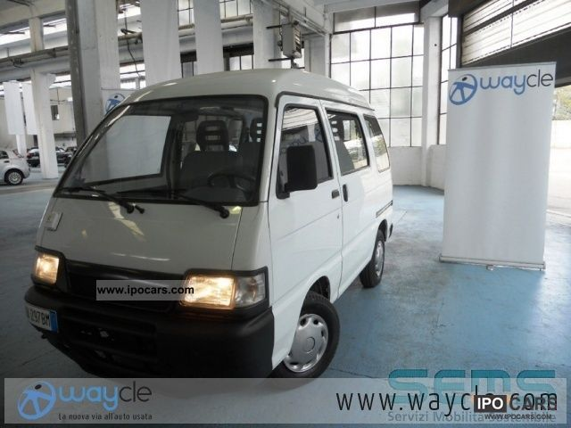 Piaggio  Porter Fontana Glass elettrico 4 posti 2004 Electric Cars photo