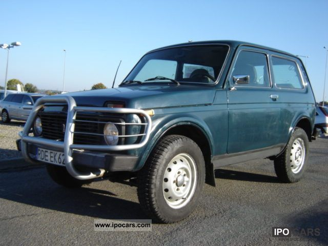 Lada  Niva 1.7 z gazem 4x4 2003 Liquefied Petroleum Gas Cars (LPG, GPL, propane) photo