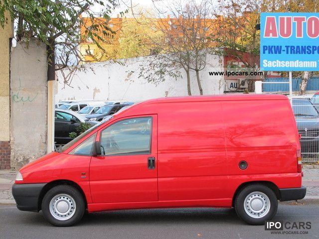 2001 Fiat  Scudo 1.9 D EL box Van / Minibus Used vehicle photo