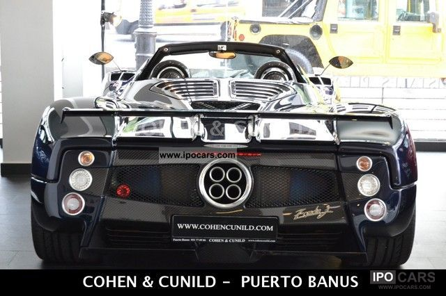 2004 Pagani  Zonda F Roadster Clubsport Cabrio / roadster Used vehicle photo