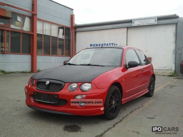 MG  ZR 1.8 2.Hand TÜV New checkbook Tuning Air 2002 Tuning Cars photo