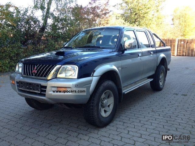 2012 Mitsubishi  L200 Pick Up 4x4 Magnum Klimatronic 1Hand AHK Other Used vehicle photo