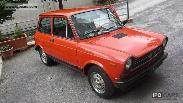 Abarth  AUTOBIANCHI A112/B1 (BERLINA A112 ELEGANT) 1979 Vintage, Classic and Old Cars photo