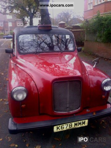 1992 Austin  F4 LTI London Taxi in West RED Limousine Classic Vehicle photo