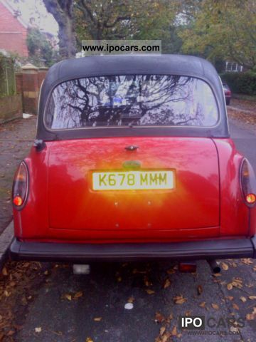 1992 Austin F4 LTI London Taxi in West RED - Car Photo and Specs