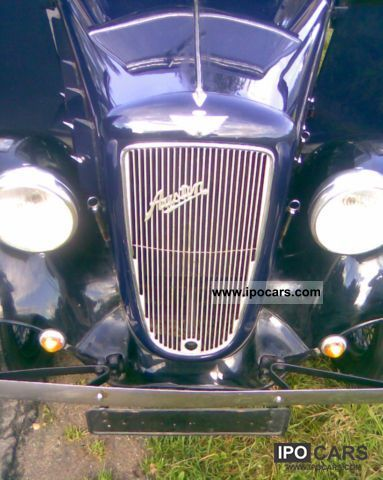 Austin  TEN-FOUR Lichfield Saloon, Seven Rosengart Dixi 1935 Vintage, Classic and Old Cars photo