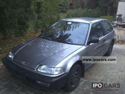 1990 Honda  Super Winter honda civic Small Car Used vehicle photo