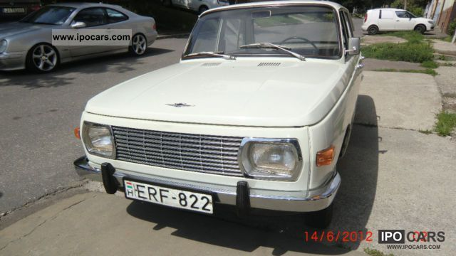 Wartburg  353.40 years old, original condition! TOP 1973 Vintage, Classic and Old Cars photo