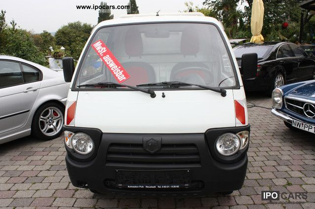 2007 Piaggio  Quargo Diesel Pickup Truck Off-road Vehicle/Pickup Truck Used vehicle photo