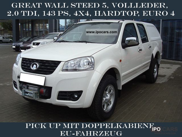 2012 Asia Motors  Great Wall Steed 5, TDI, 143 hp, 4x4, leather, Off-road Vehicle/Pickup Truck Used vehicle photo