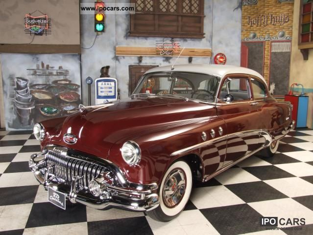 Buick  Century Deluxe 1952 Vintage, Classic and Old Cars photo