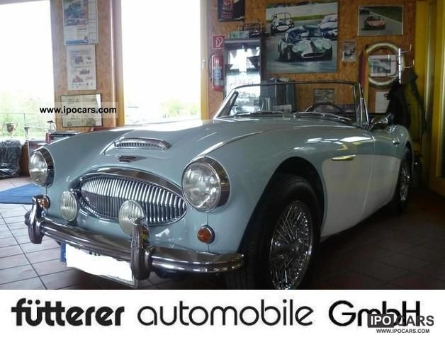 Austin Healey  Austin Healey 3000 Mark II BJ7 SportsConvertible 1962 Vintage, Classic and Old Cars photo