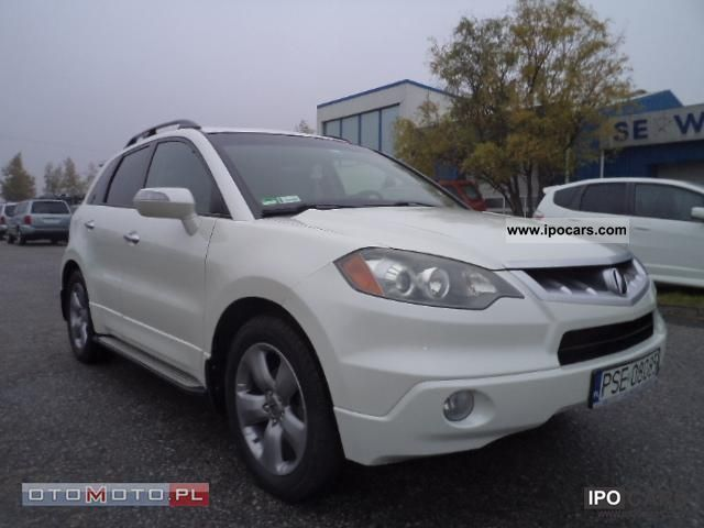 2007 acura rdx turbo 2 3 sh awd car photo and specs. Black Bedroom Furniture Sets. Home Design Ideas