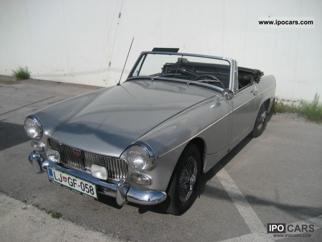1964 MG  Midget Cabrio / roadster Classic Vehicle photo