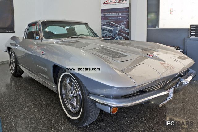 Corvette  C2 * Split Window * 327cui. V8 300hp * Top restoration. * 1963 Vintage, Classic and Old Cars photo