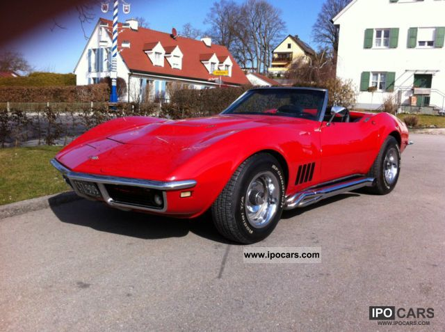 Corvette  C3 427 big block chrome Convertible Model Year 1968 1968 Vintage, Classic and Old Cars photo
