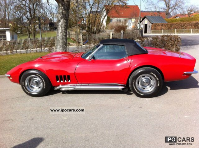 1968 corvette c3 427 big block chrome convertible model year 1968 car photo and specs. Black Bedroom Furniture Sets. Home Design Ideas
