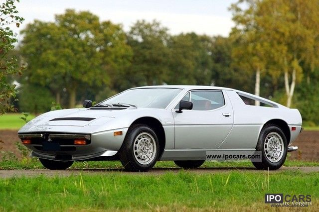 1978 Maserati  Merak Sports car/Coupe Classic Vehicle photo