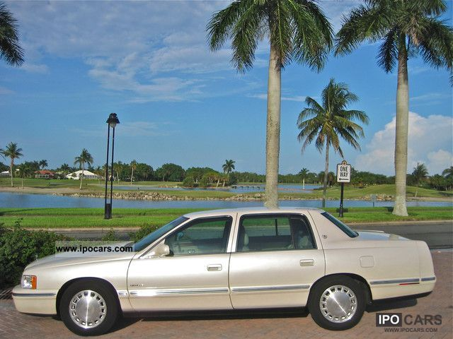 1999 Cadillac DEVILLE SUPER MAINTAINED / NAVIGATION / SITZHEIZUNG ...