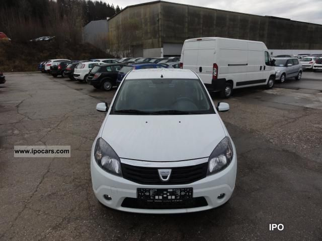 2012 dacia easy sandero 1 2 16v 55kw 75ps euros 5 eu driving car photo and specs. Black Bedroom Furniture Sets. Home Design Ideas