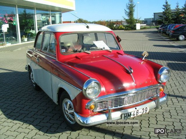 Trabant  P 50 1961 Vintage, Classic and Old Cars photo