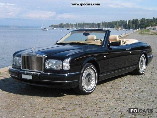 2000 Rolls Royce  Corniche Cabrio / roadster Used vehicle photo