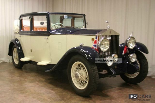 Rolls Royce  20/25 Barker Tickford convertible sedan 1931 Vintage, Classic and Old Cars photo