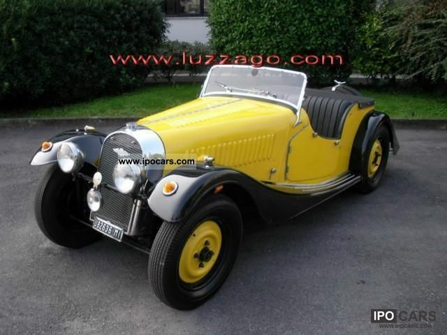 Morgan  4/4 1 ° SERIES 1100 2 SEATS RHD 1936 Vintage, Classic and Old Cars photo