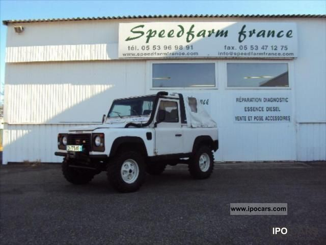 1992 Land Rover  Defender TDI Off-road Vehicle/Pickup Truck Used vehicle photo