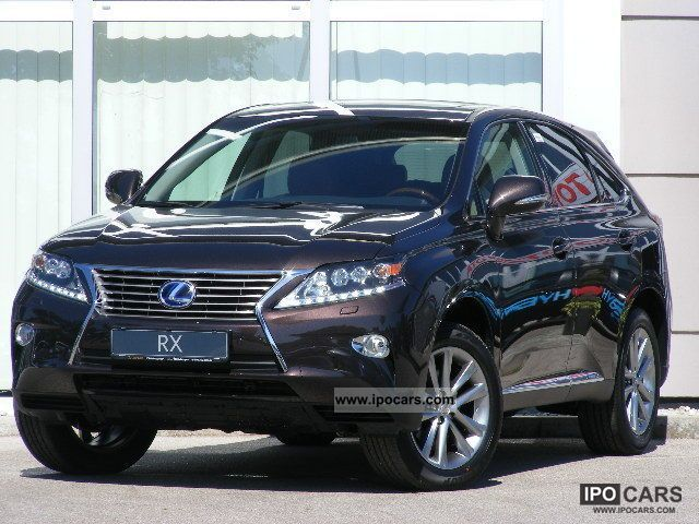 2012 Lexus  RX 450 Luxury Line model 2013 AIR SUSPENSION Off-road Vehicle/Pickup Truck New vehicle photo