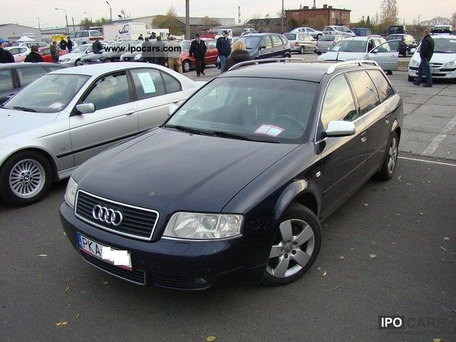 2003 Audi  A6 ESTATE 2.0 Skora, BEZWYPADKOWY 2003r Estate Car Used vehicle photo