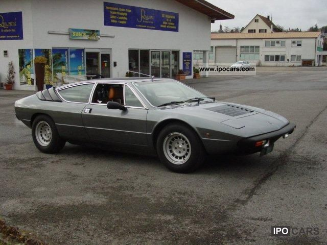 Lamborghini  Urraco 1977 Vintage, Classic and Old Cars photo