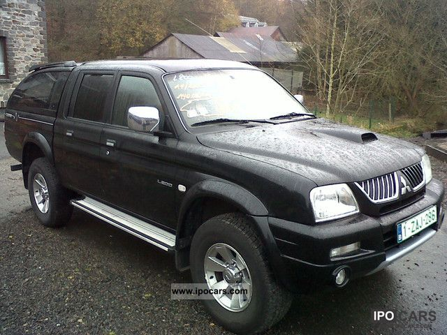 2005 Mitsubishi L200 2.5 TD 115 DOUBLE CAB canyon - Car Photo and Specs