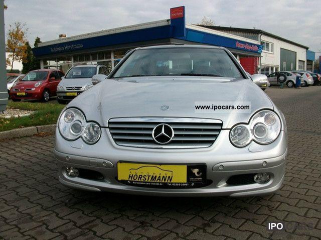 2004 Mercedes Benz C 180 K Sport Coupe Indianapolis Lpg