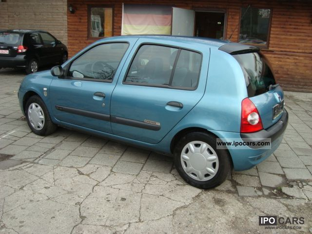 2003 Renault  Clio 1.4 16V Chiemsee Small Car Used vehicle photo