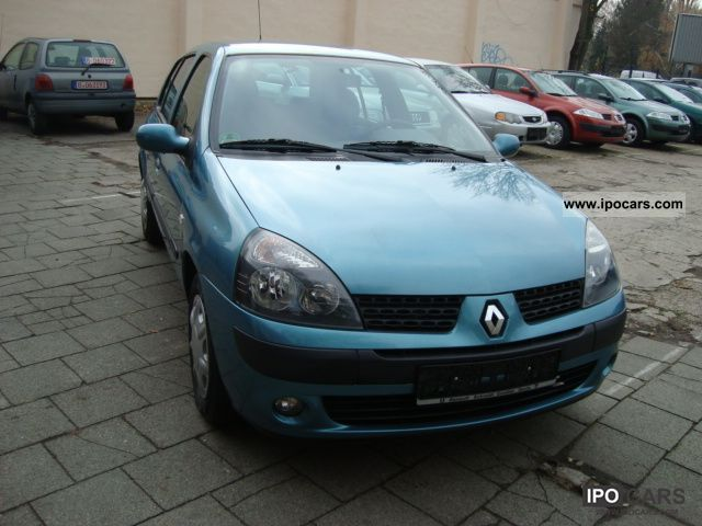 2003 renault clio 1 4 16v chiemsee car photo and specs. Black Bedroom Furniture Sets. Home Design Ideas